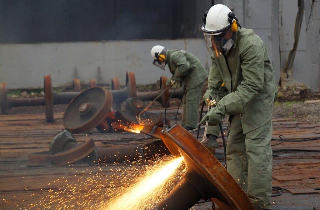 услуги демонтажа металлоконструкций